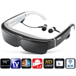 LUNETTES WIFI ANDROID HD 98 pouces
