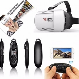 VR BOX MASQUE VIRTUEL 3D BLUETOOTH