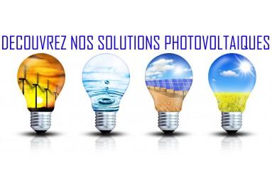 DECOUVREZ NOS SOLUTIONS PHOTOVOLTAIQUE